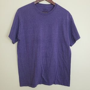 Fruit Of The Loom Purple Basic Tee Shirt